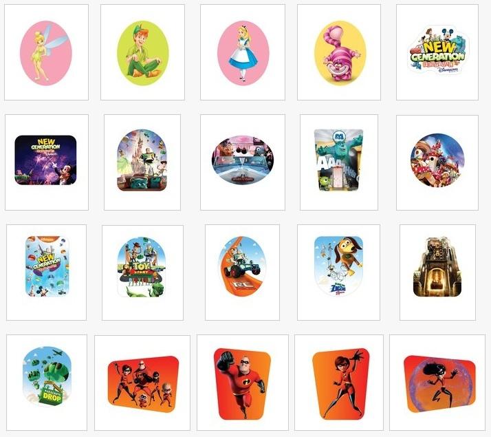 Pin's Disney dans les magasins Carrefour Belgique 211