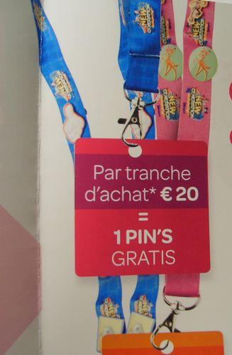 Pin's Disney dans les magasins Carrefour Belgique 53511210