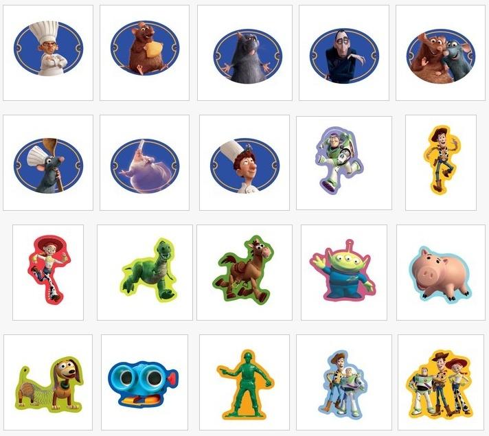 Pin's Disney dans les magasins Carrefour Belgique 610