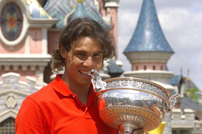 Rafael Nadal fête sa victoire à Disneyland Paris _dsc4710
