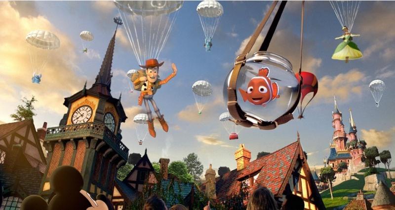 Publicité de La nouvelle Génération Disney Kkl10