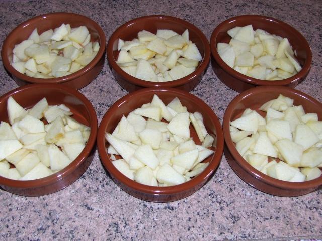 clafoutis aux pommes individuels 00264