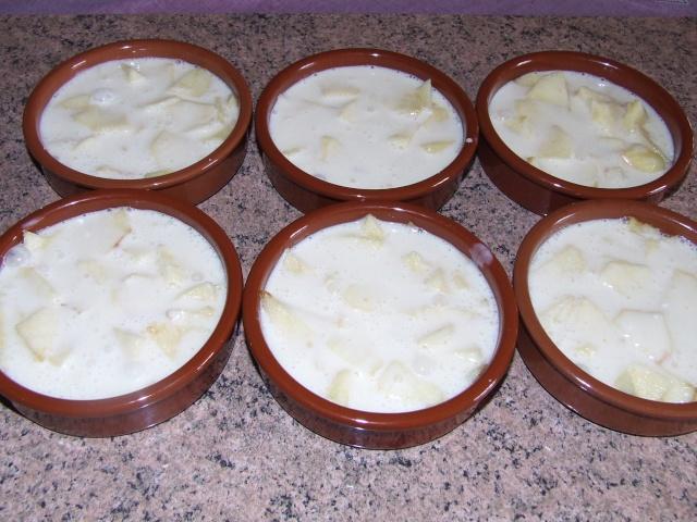 clafoutis aux pommes individuels 00353