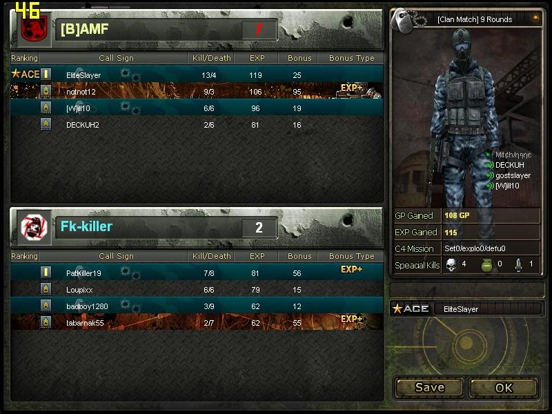 vs Fk-killer Cross108