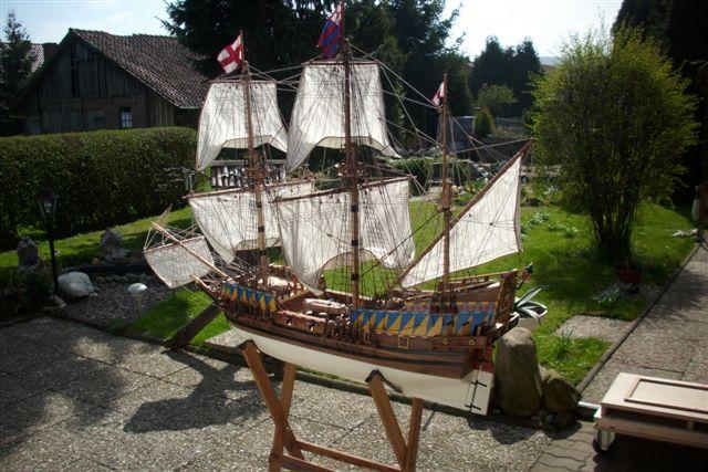"""Historische Segelschiffe  """"Golden Hind """" - Seite 5 Dsci0016"""