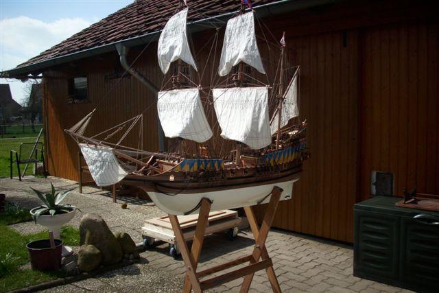 """Historische Segelschiffe  """"Golden Hind """" - Seite 5 Dsci0017"""