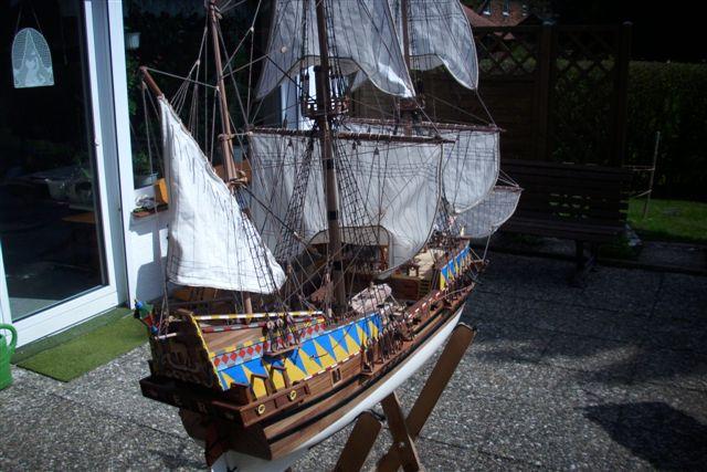 """Historische Segelschiffe  """"Golden Hind """" - Seite 5 Dsci0019"""