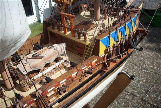 """Historische Segelschiffe  """"Golden Hind """" - Seite 5 Dsci0026"""