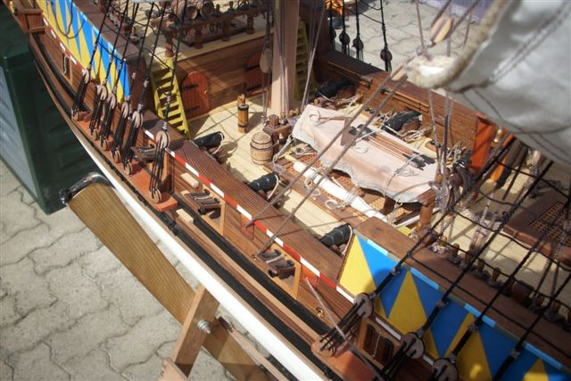 """Historische Segelschiffe  """"Golden Hind """" - Seite 5 Dsci0030"""