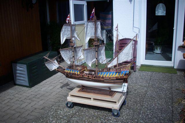 """Historische Segelschiffe  """"Golden Hind """" - Seite 5 Dsci0036"""