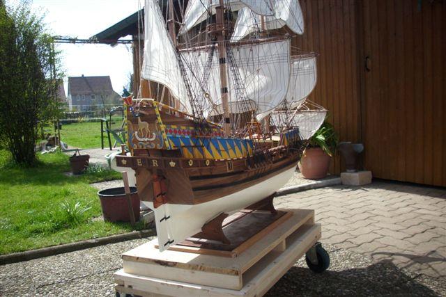 """Historische Segelschiffe  """"Golden Hind """" - Seite 5 Dsci0038"""