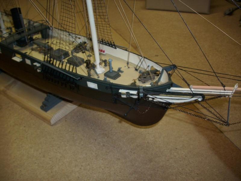 CSS Alabama von Revell in 1:96 Dsci1110
