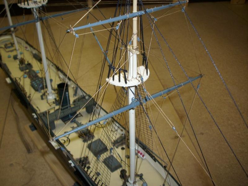 CSS Alabama von Revell in 1:96 Dsci1112