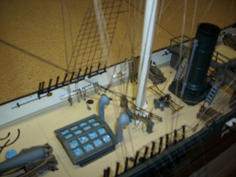 CSS Alabama von Revell in 1:96 Dsci1113