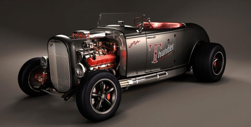 el nuevo coche de Thunder Trod8n10