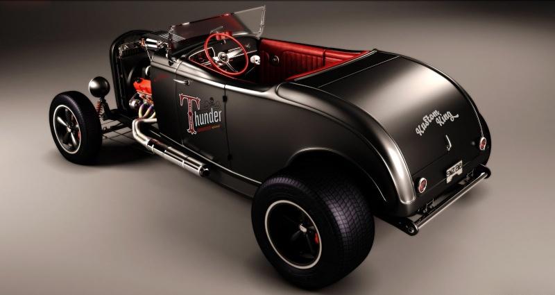 el nuevo coche de Thunder Trod8n11