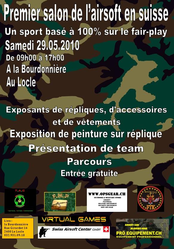 Salon de l'airsoft en Suisse le samedi 29 mai 2010 Affich13