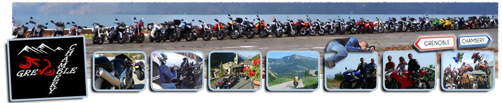 Balades Moto au départ de Grenoble ou Chambéry