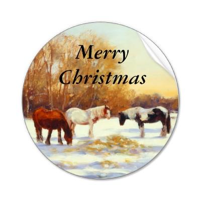 Joyeux Noël Horse_10