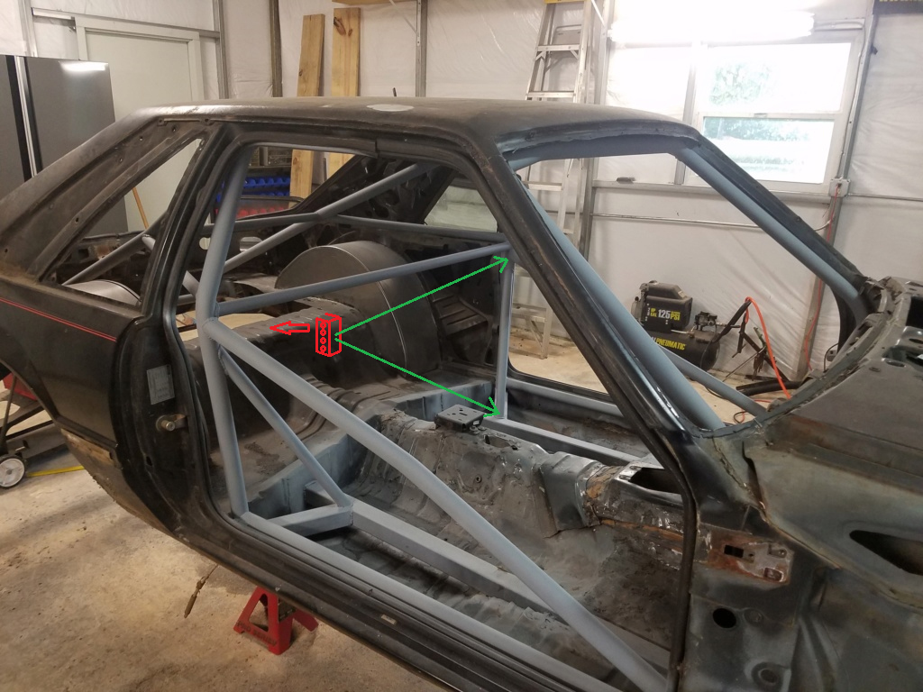 Bruno's 87 Mustang build - Page 4 87cage11