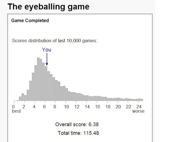 eye balling game  Game10