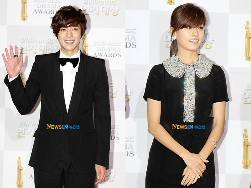 [SS501] Kim HyunJoong Han HyoJoo '°Received Generous Love from Viewers'± Male/Female Popularity Award (MBC Acting Awards) 20101215