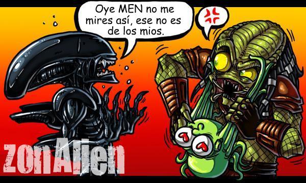 Galeria humoristica de Alien y Depredador Zonali25