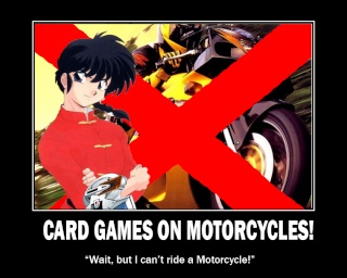 CARD GAMES ON MOTORCYCLES! Cardnt10