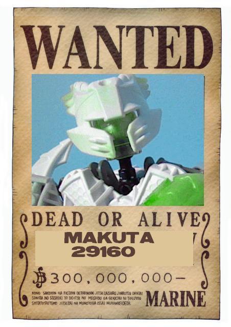 [Fan-art] Wanted bionicle One-pi10