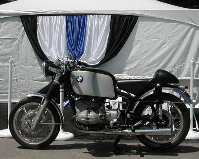 "BMW ""singée"" Velocette R69ye510"