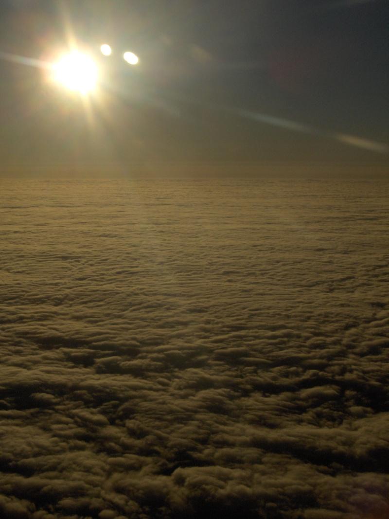 photographie prise depuis un avion Gandia10