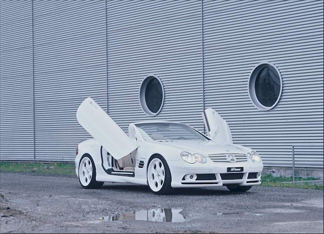 [Photos] Galerie : La Mercedes SL R230 00000210