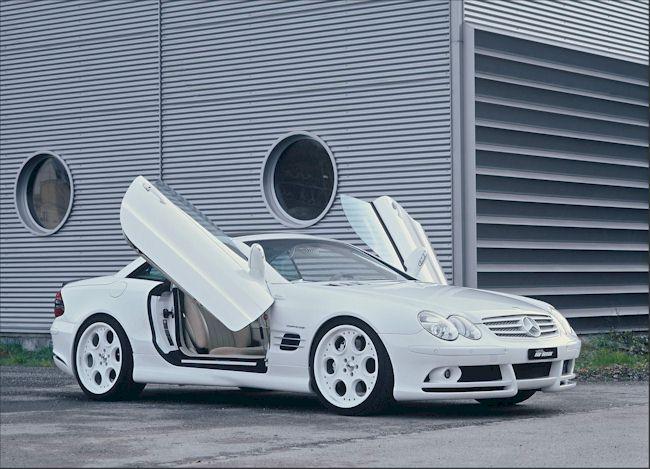 [Photos] Galerie : La Mercedes SL R230 00000610