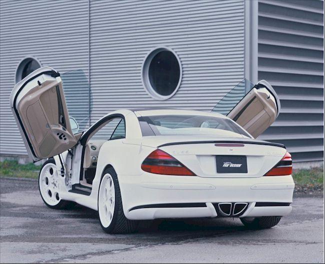 [Photos] Galerie : La Mercedes SL R230 00004810