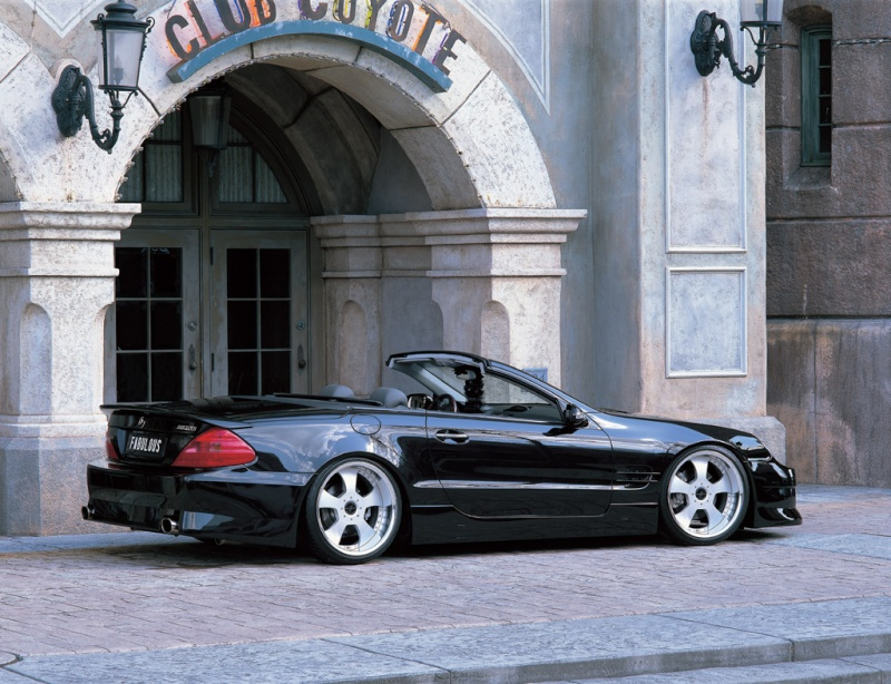 [Photos] Galerie : La Mercedes SL R230 0210