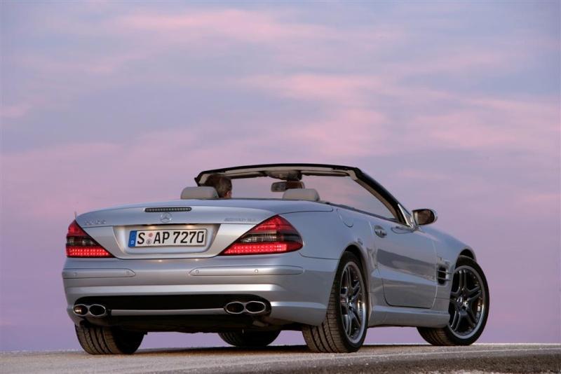 [Photos] Galerie : La Mercedes SL R230 10118510