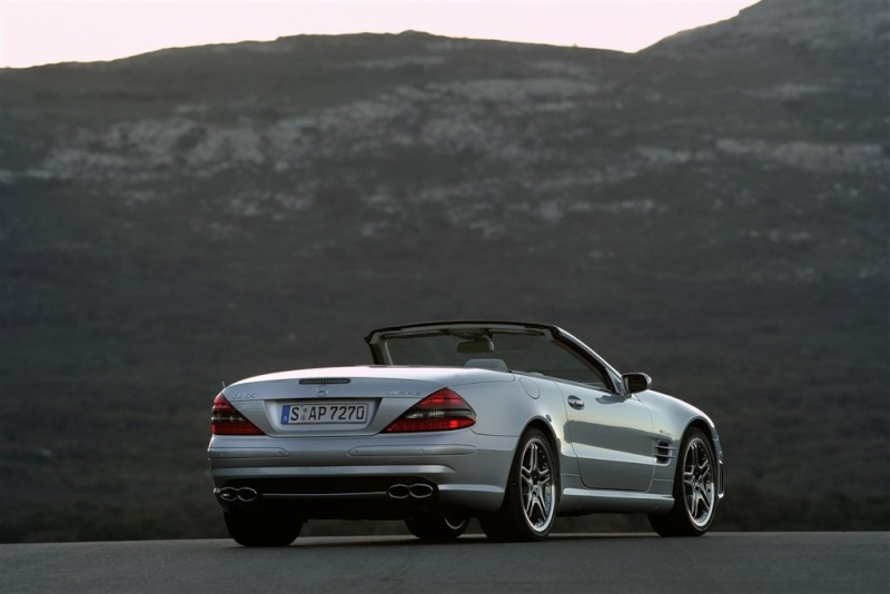 [Photos] Galerie : La Mercedes SL R230 10118610