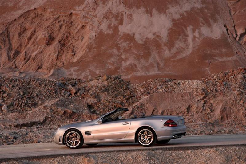 [Photos] Galerie : La Mercedes SL R230 10119410