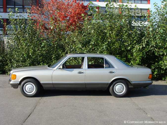 Les Mercedes 500/560 SE/SEL (W126)  11_67524