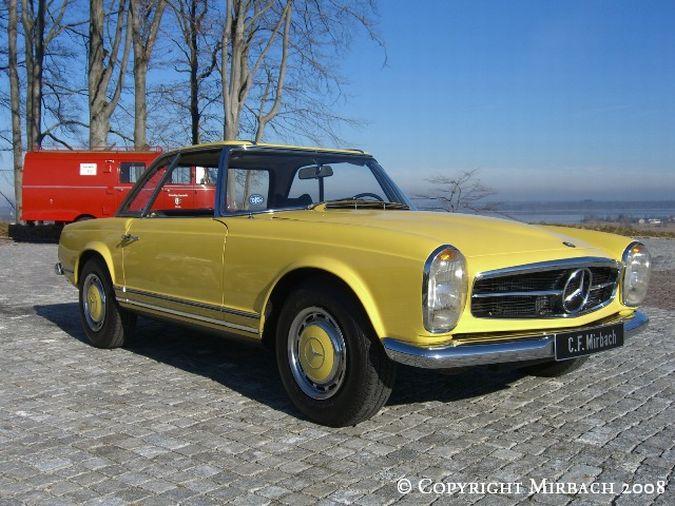 "La ""Pagode"" 280 SL (W113 1967-1971)  11_67525"