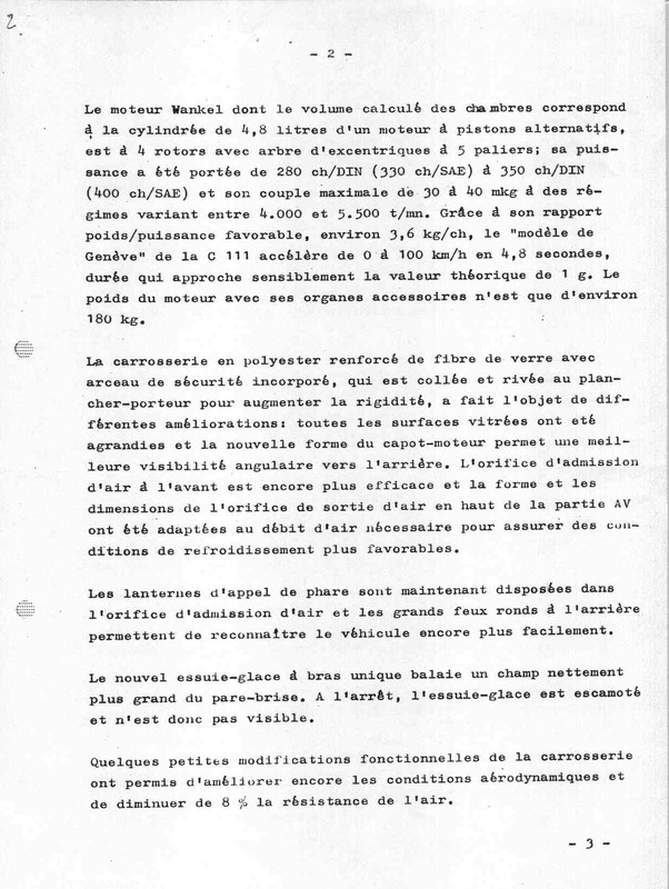[Historique] Mercedes C 111 (1969-1979) 1210