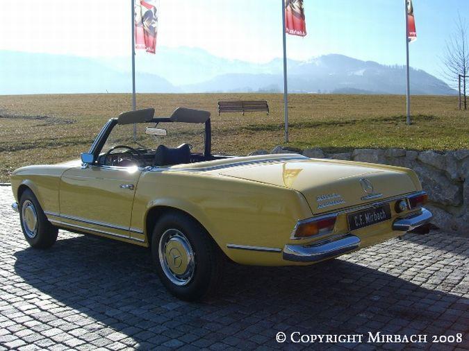 "La ""Pagode"" 280 SL (W113 1967-1971)  12_67524"