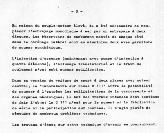 [Historique] Mercedes C 111 (1969-1979) 1310