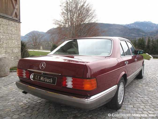 La Mercedes 300 SE (W126)  15_67520