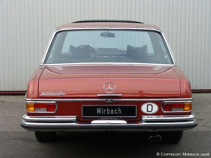 La Mercedes 250 S-SE / 280 S-SE / 300 SE (W108/W109) Berline   15_67529