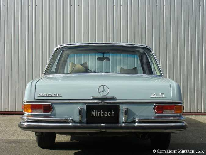 La Mercedes 250 S-SE / 280 S-SE / 300 SE (W108/W109) Berline   15_67531