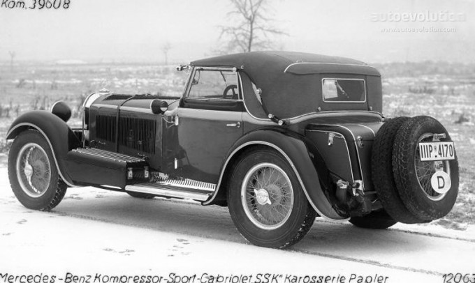Mercedes SS SSK & SSKL (W06) 1928-1934 1663_m10