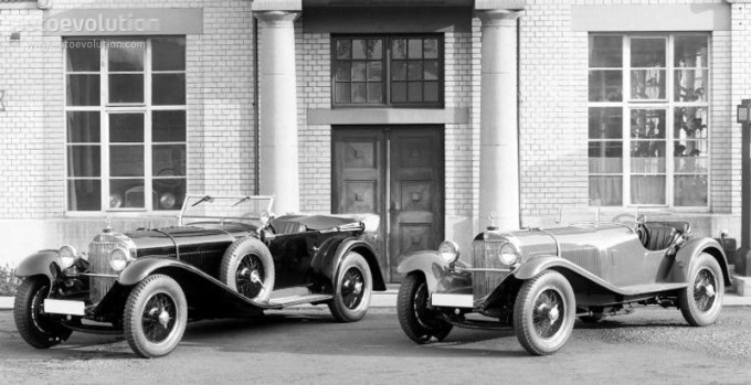 Mercedes SS SSK & SSKL (W06) 1928-1934 1664_m10