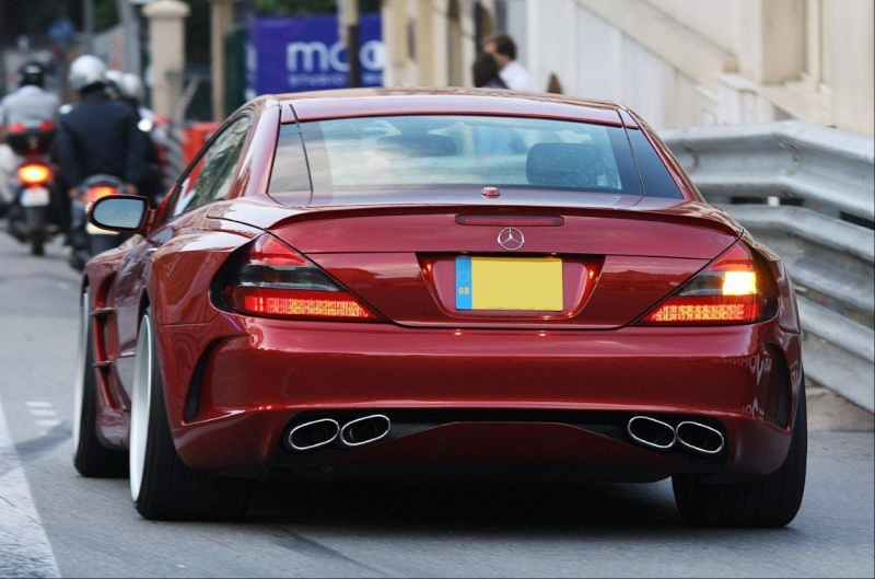 [Photos] Galerie : La Mercedes SL R230 17547i10