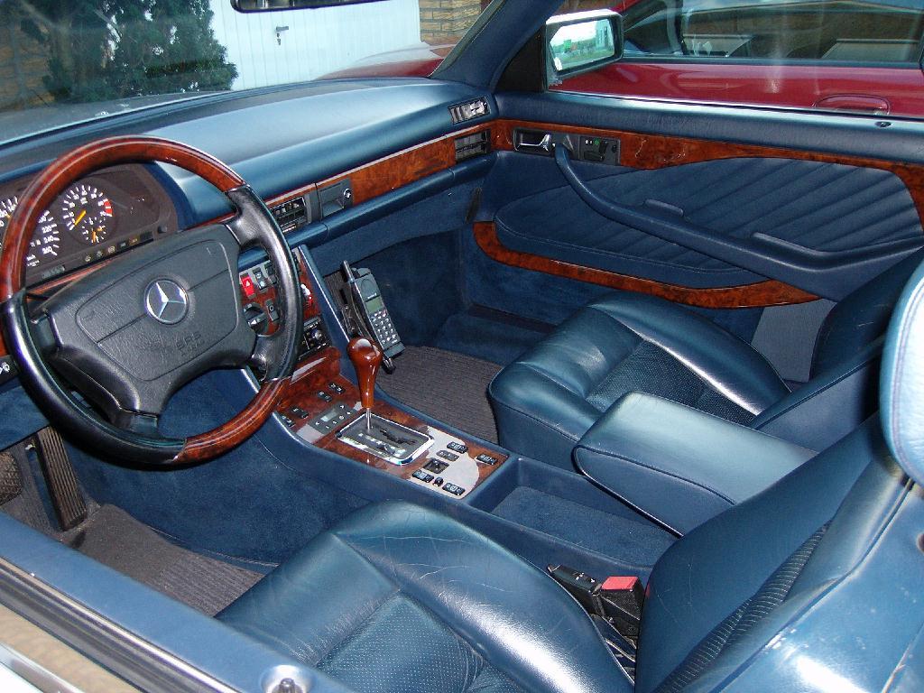 Les interieurs de W126 1980 - 1992 177o5j10